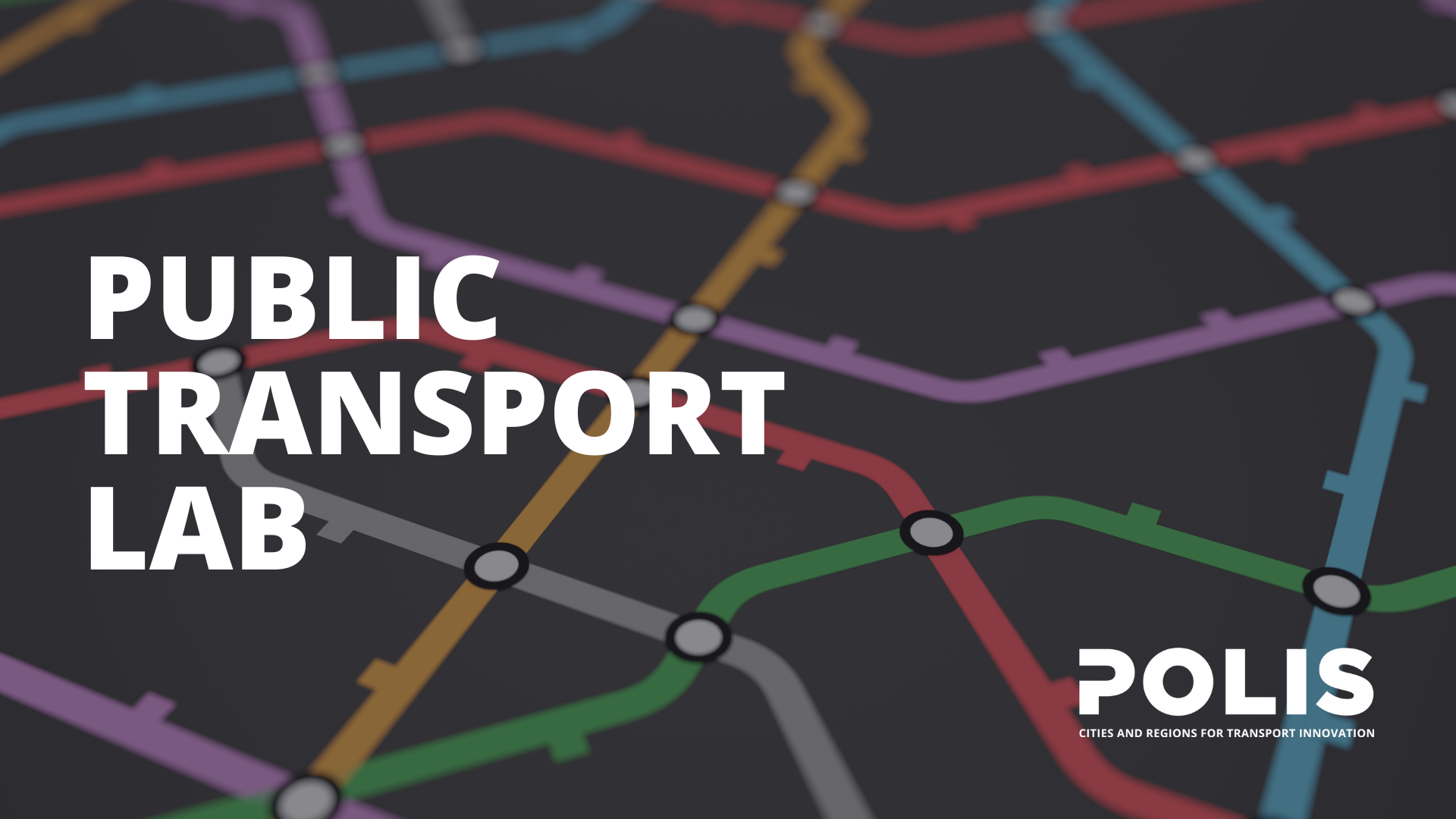 POLIS launches the Public Transport Lab, a webinar series on the future of public transport