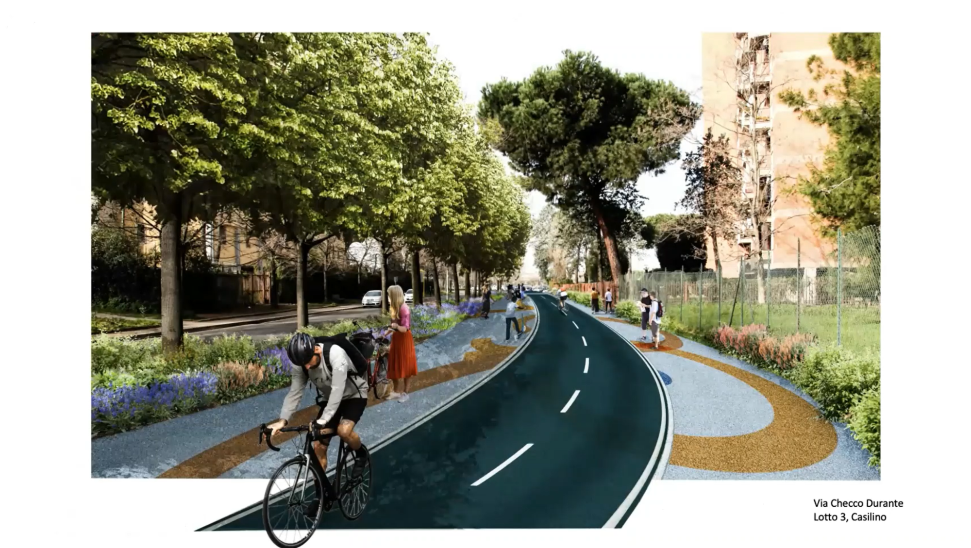 Rome's Great Bicycle Ring Road, ready to start construction by 2022