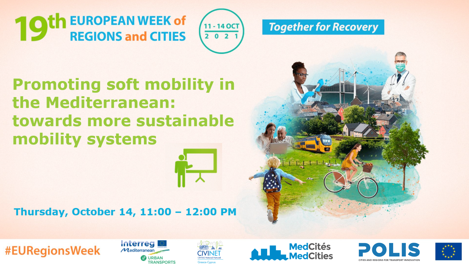 Promoting soft mobility in the Mediterranean: towards more sustainable mobility systems