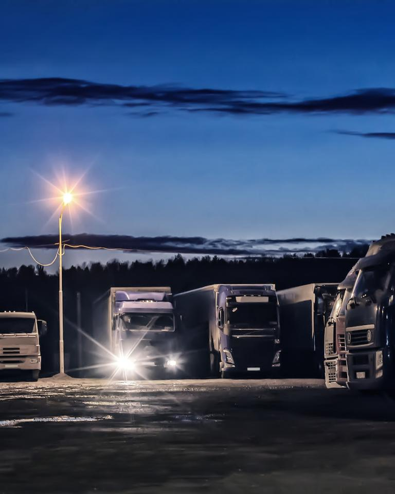 Connecting Europe Facility: New EU funding for safe and secure truck parking areas