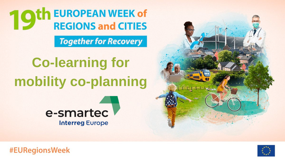 E-smartec's EWRC 2021 session: co-learning for mobility co-planning